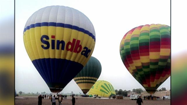 Hot air balloon crash in Egypt kills at least 18