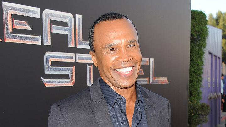 Real Steel 2011 LA Premiere Sugar Ray Leonard