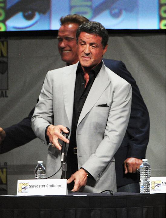 "Comic-Con International 2012 - ""The Expendables 2 - Real American Heroes"" Panel"