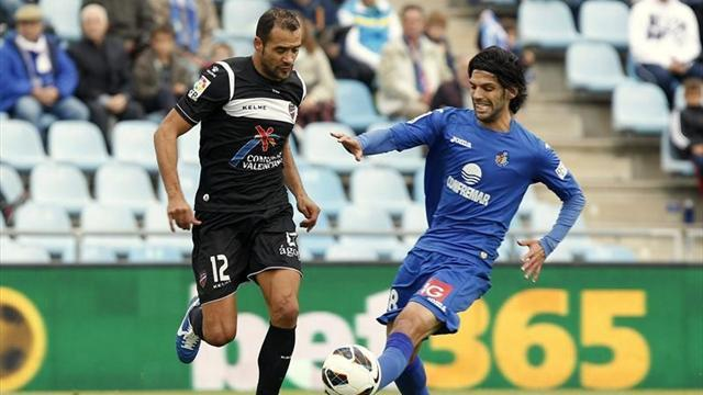 Liga - Levante and Getafe draw