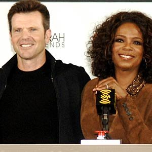 Bob Greene and Oprah Winfrey. L. Busacca/WireImage.com