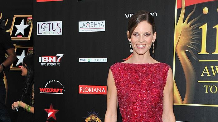 Hilary Swank MAC Awards