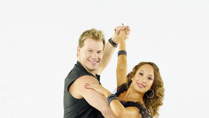 "Chris Jericho teams with professional dancer Cheryl Burke on Season 12 of ""Dancing with the Stars."""