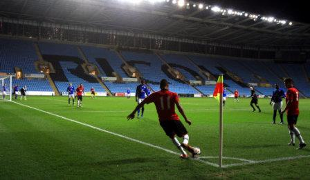 Soccer - Barclays U21 Premier League - Leicester City v Manchester United - Ricoh Arena, Coventry