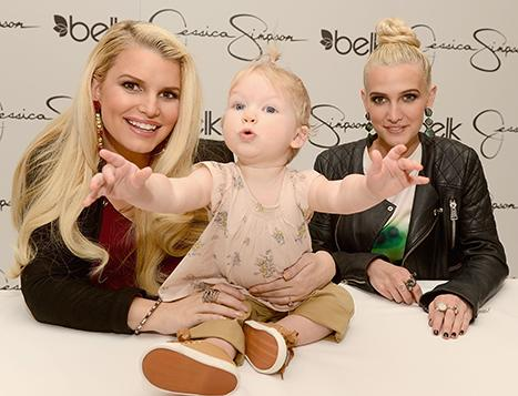 Jessica Simpson's Daughter Maxwell Steals the Spotlight at Her Fashion Line Event