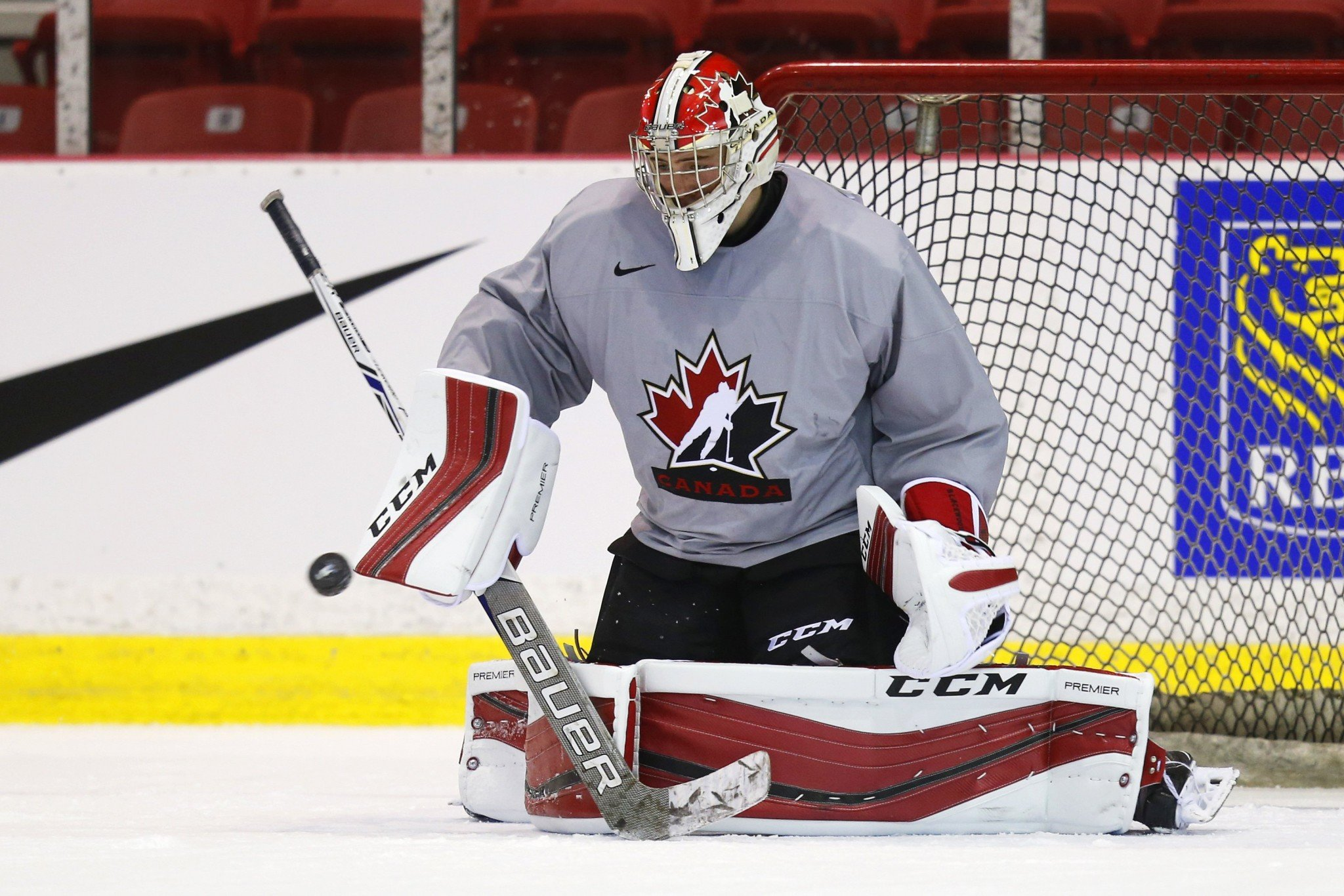 Team Canada selection camp.