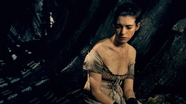 Anne Hathaway in 'Les Misérables'