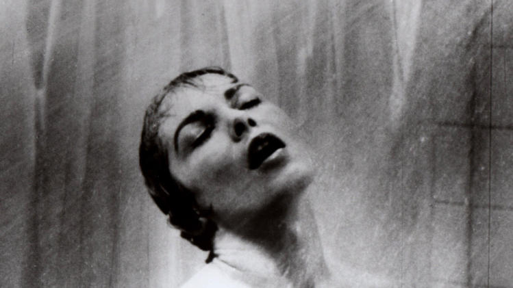 "** FILE **This undated publicity file photo released by Paramount Pictures shows actress Janet Leigh in the shower scene in Alfred Hitchcock's 1960 classic thriller ""Psycho.""  (AP Photo/Paramount Pictures, File)"