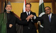 David Cameron Holds Afghan-Pakistan Peace Talks