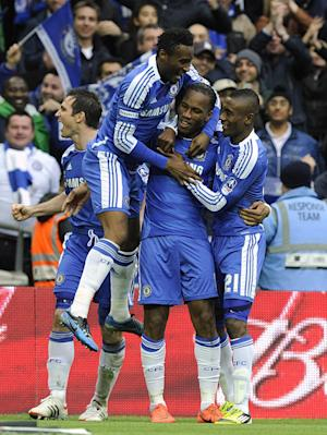Didier Drogba (second right)