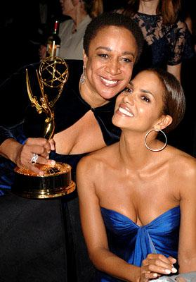 S. Epatha Merkerson and Halle Berry Governor's Ball Emmy Awards - 9/18/2005