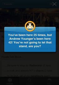 Foursquare Needs to Revive Gamification! image Foursquare Checkin