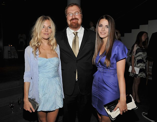 Sienna Miller,Director R.J. Cutler and Bee Shaffer attend