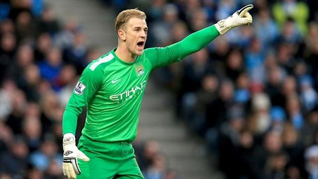 Manuel Pellegrini says Joe Hart, pictured, 'worked hard' to force his way back into the team