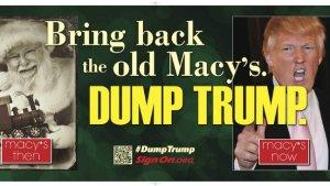 Anti-Donald Trump Billboard Circling Macy's Headquarters (Photo)