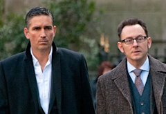 Jim Caviezel, Michael Emerson | Photo Credits: John P. Filo/CBS