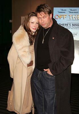 Premiere: Stephen Baldwin and wife Kennya at the NY premiere of Off the Map - 3/1/2005