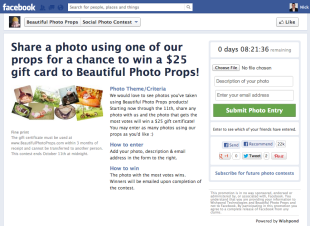5 Sure Fire Facebook Contest Idea Formulas image