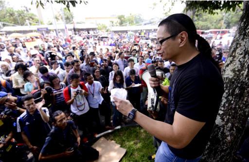 Pelajar, pensyarah UM berarak bantah Akta Hasutan