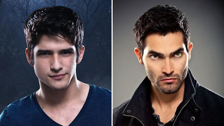 Scott McCall (Tyler Posey) and Derek Hale (Tyler Hoechlin) on the new Teen Wolf