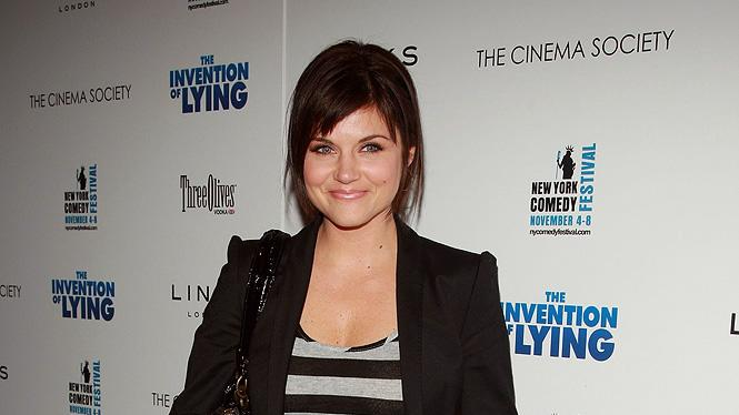 The Invention of Lying NY Screening 2009 Tiffani Thiessen