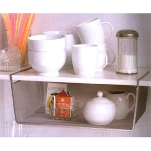 Try under-shelf baskets