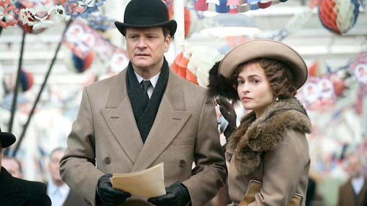 The King's Speech 2010 Weisnstein Company Colin Firth Helena Bonham Carter