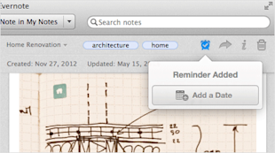 Evernote Reminders Now Available on Android, iOS, Mac and Web image reminder add mac