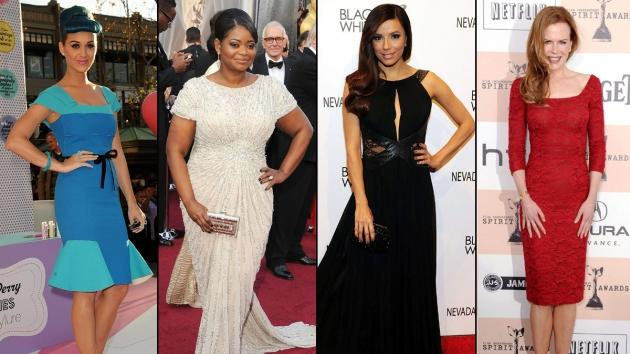 Katy Perry/Octavia Spencer/Eva Longoria/Nicole Kidman -- Getty Images