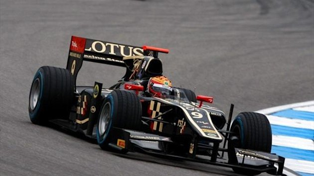 James Calado Lotus GP2