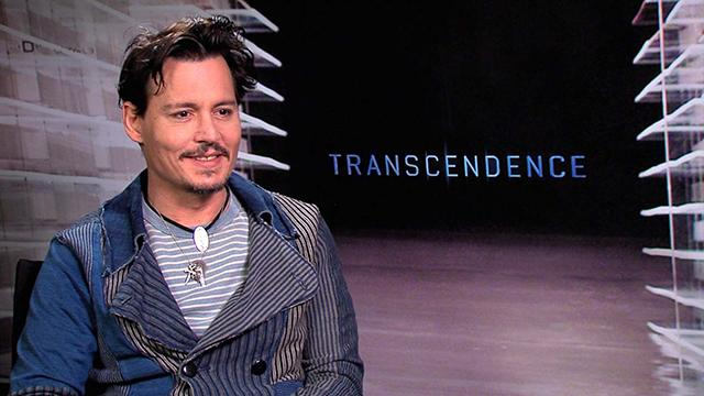 Johnny Depp: What Attracted Him To 'Transcendence'?