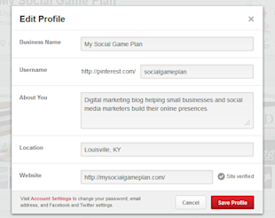 How To Optimize Your Pinterest Profile, Boards, and Pins image pinterest profile