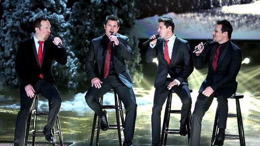 "98 Degrees: ""I'll Be Home for Christmas"""