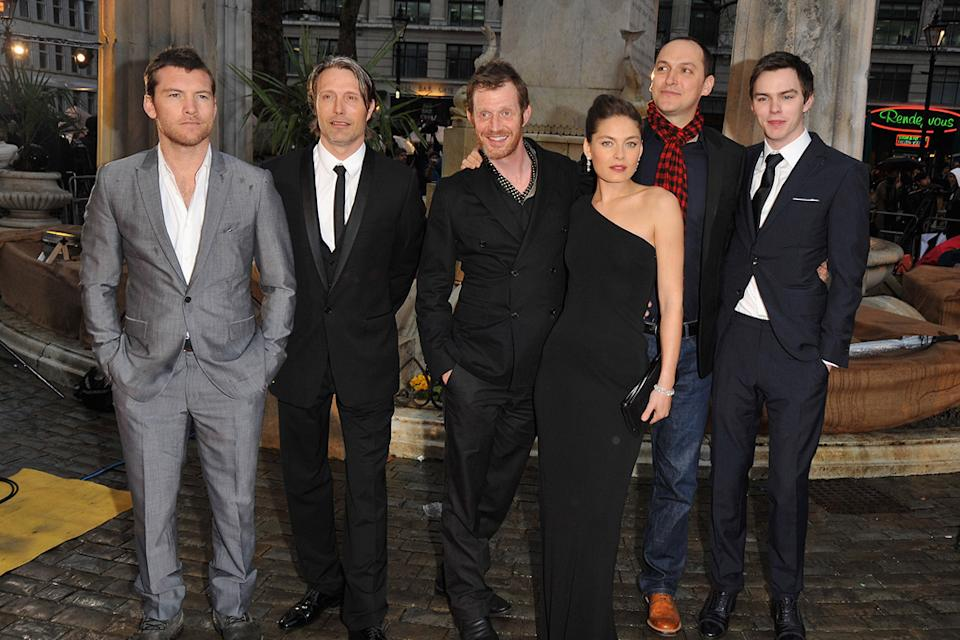 Clash of the Titans UK premiere 2010 Sam Worthington Mads Mikkelsen Jason Flemyng Alexa Davalos Louis Letterier Nicholas Hoult