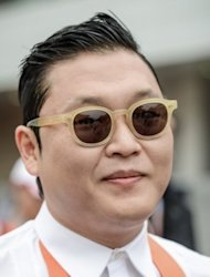 "This file photo shows South Korean pop star Psy, pictured on October 14, 2012, who's ""Gangnam Style"" video is galloping towards the one-billion-view mark on YouTube, a fresh milestone in the enduring global craze for the S.Korean rapper and his horse-riding dance."