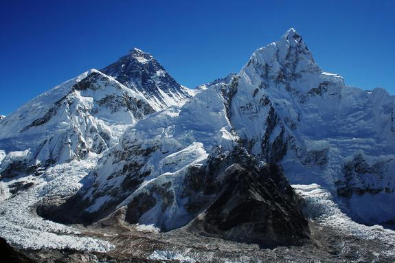 Mount Everest's Ice Is Melting