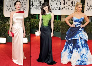 The 2012 Golden Globes gowns were both stunningly gorgeous and painfully ugly.