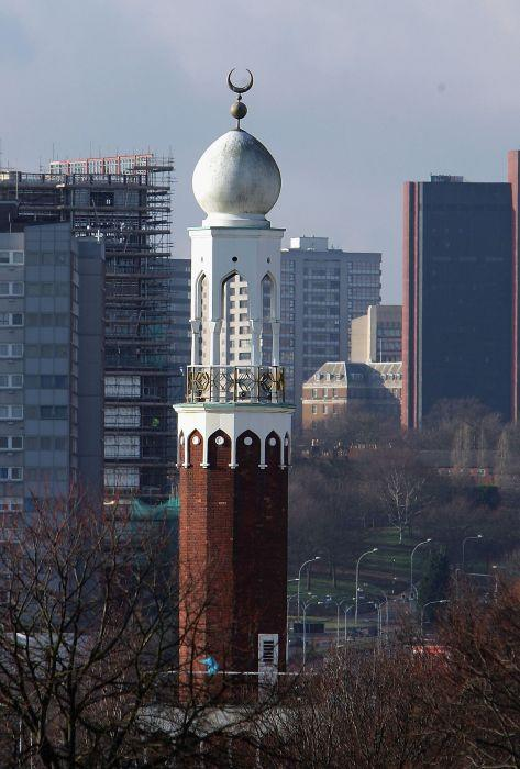 Central Mosque in Birmingham, UK