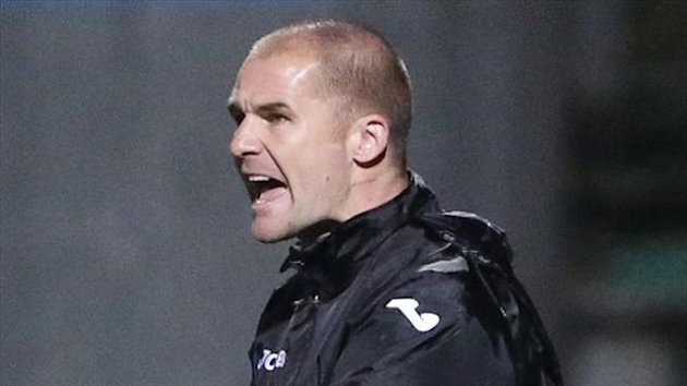 Partick manager Alan Archibald, pictured, is unhappy that Gabriel Piccollo's booking will stand