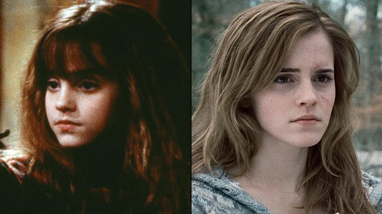 Harry Potter Actors Through the Years 2010 Hermione Tile