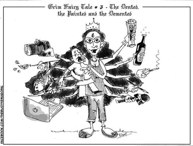 Grim Fairy Tale 3 - The Painted, the Dented and the Demented - Bijoy Venugopal