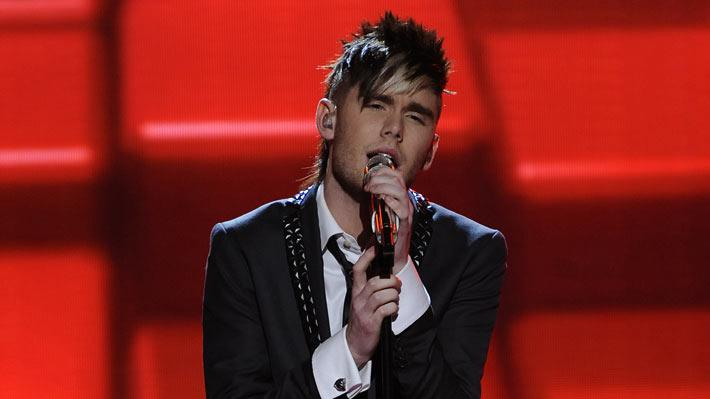 "Colton Dixon performs ""Lately"" by Stevie Wonder on American Idol."""