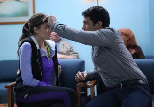 Exclusive Mindy Project Sneak Peek: Girls' Allison Williams Gives Chris Messina the Eye