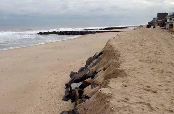 How Long-Forgotten Seawall Fended Off Sandy