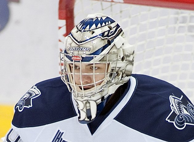 Desrosiers earned his third shutout of the month in Monday's 5-0 win over the Tigres. (CP / Ghyslain Bergeron)