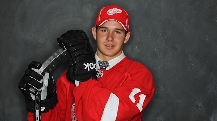 Detroit Red Wings draft pick  Xavier Ouellet
