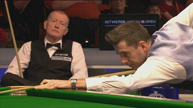 Mark Selby just hit a 144tc against Steve Davis