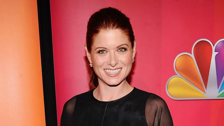 Debra Messing NBC Upfronts