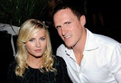 Elisha Cuthbert and Dion Phaneuf | Photo Credits: Aaron Harris/Getty Images