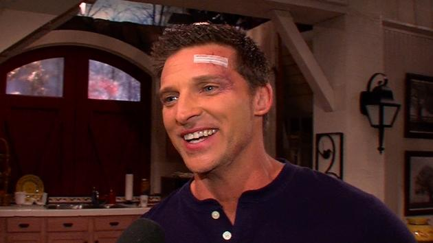 Steve Burton on the set of 'The Young and The Restless'  -- Access Hollywood